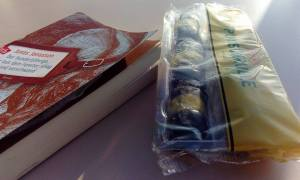 Punschrulle und Buch 2