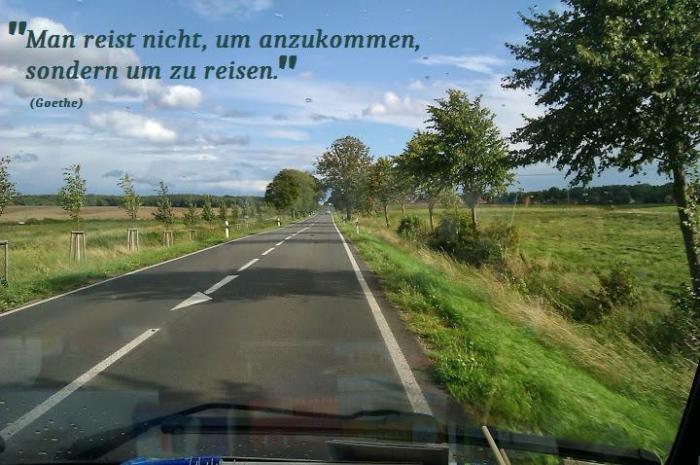 Zitat Reisen Goethe 1