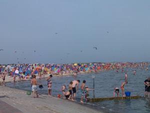 schillig strand sommer