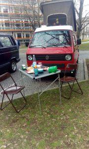 VW Bulli T3 Dröppel frühstück