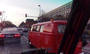 VW T1 Bulli Feuerwehr Ampel